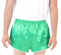 Adult Men's Sports Sportswear Work Out Gym Green Athletic Running Shorts