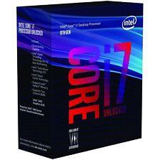 Intel Core i7 8700K Processor 12MB Cache 3.7Ghz LGA1151 Hexa Core Desktop PC CPU