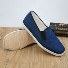 Old Beijing Cloth Shoes Handmade Cotton Martial Arts Sneakers Flat Breathable