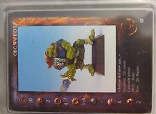 New listing Confrontation Orc Warriors (3) metal Oop nib blister