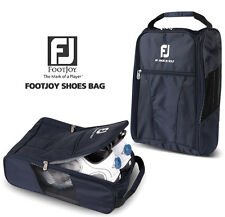 New Genuine FOOTJOY Golf Shoes Bag Zipped Sports Bag Shoe Case - Navy Color