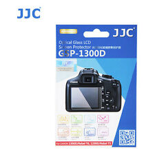 JJC GSP-1300D Optical GLASS LCD Screen Protector Film FR Canon Rebel T6 1200D T5