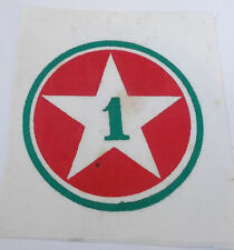 original vietnam american war vintage 1st  infantry  printed cloth patch