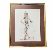 Scott Earle Art Print B Ovalle Ovalla 1976 Tree Beard Lord of Rings 23X19 Framed