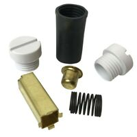 Kitchenaid Stand Mixer Brush Holder Kit With 2 White Caps 4162546-2W Genuine