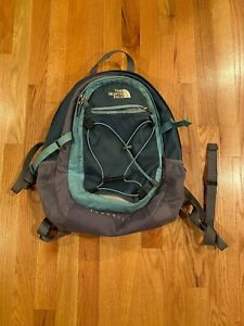 Isabella The North Face Blue and Gray Backpack, Used