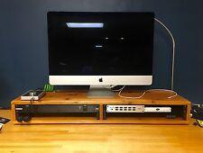 2 x 2U Desktop Studio Rack Cedar (4U rack)