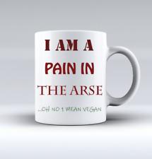 Funny Mug - Coffee Mug Tea Mug Vegan Mug Cup Great Novelty Gift