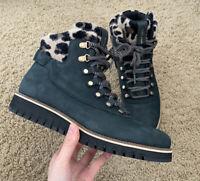 Cole Haan Womens Zerogrand Explorer Hiker Black Hiking Boots Size 9 (20398)