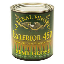 Semi-Gloss General Finishes Exterior 450 Varnish, Gallon