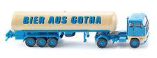 """Wiking 078603 Tanksattelzug (Volvo F89) """"Bier aus Gotha"""" 1:87 (H0)"""