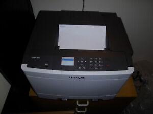 Lexmark CS410dn Workgroup Laser Colour Printer A4 #2