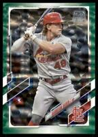 2021 Topps Series 1 Base Green #286 Harrison Bader /499 - St. Louis Cardinals