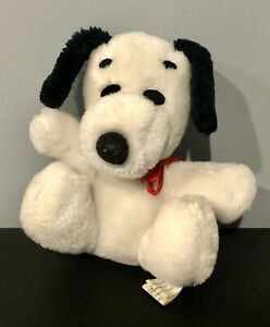 Vintage Peanuts Snoopy Plush Toy 1968 15cm