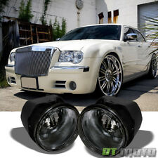 Smoked 05-10 Chrysler 300C/08-09 Dodge Caliber Srt-4 Bumper Fog Lights Lamps Set