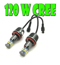H8 For BMW 12 LED ANGEL EYE UPGRADE 120W CREE! For BMW 3 SERIES E92 E93 06+
