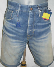 G-Star Raw Hommes Jeans 1/2 Shorts taille w33 + Neuf +