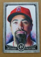 Anthony Rendon 2020 Topps Museum Collection Canvas - Anaheim Angels