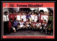 Fortuna Düsseldorf Mannschaftskarte DFB Pokalsieger 1980 TOP