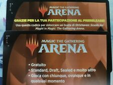 MTGA Magic Arena Code Prerelease Strixhaven 6 booster pack MTG 6 Bustine Arena