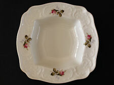 Vintage Rosenthal Sanssouci Moss Rose square serving vegetable bowl dish mint