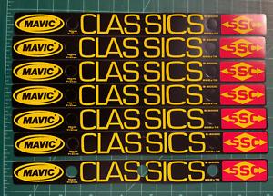 Mavic CLASSICS Rim Stickers
