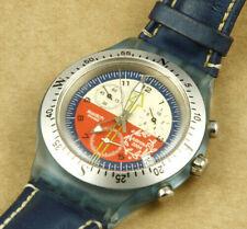 Swatch Irony Athens 2004 Olympics Chronograph Swiss Made Quartz Watch 43mm