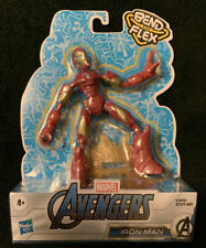 Bend and Flex Iron Man Bendable Action Figure Marvel Avengers