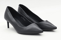 Marks & Spencer Womens UK Size 7.5 Black Leather Shoes