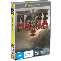 Nazi Megastructures 2 All 6 Episodes 2x DVD Hitler Missles Himmler's SS Wolf's L