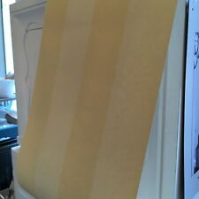 Vintage Wallpaper Stripes Tone on Tone Yellow by Hill & Knowles