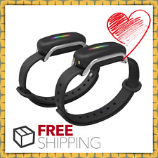 Bond Touch Bracelets for Couples Long-Distance Lovers Closer Than Ever Black NEW