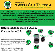 Spectralink Polycom Refurbished DCD100 Chargers (Lot of 10)