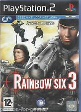 RAINBOW SIX 3 for Playstation 2  PS2 - with box & manual - PAL