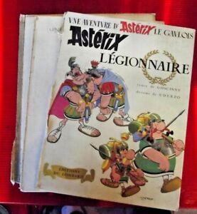Ancien Album Astérix Légionnaire 1970 mauvais état pour restauration