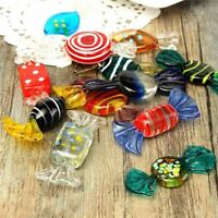 Christmas Ornament 12pcs Colorful Vintage Glass Sweets Wedding Party Candy Craft