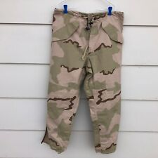 GORE-TEX EXTENDED COLD WEATHER DESERT CAMOUFLAGE PANTS - MEDIUM REGULAR.