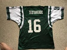 Testaverde Jets Football Champion Jersey Youth Large 14-16