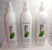 3 Matrix BIOLAGE Hydra Therapie Daily Leave In Tonic 13.5 oz Each (217)