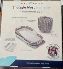 Baby Delight Snuggle Nest Harmony Protable Sleeper Gently Used 25.00