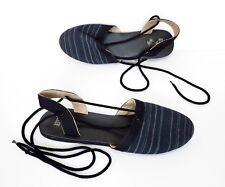 Ladies VANS strappy canvas Summer Sandals Shoes Size 5 Mint Cond