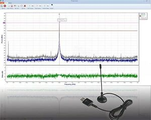 RF Spectrumlyzer -- USB RF Spectrum Analyzer, 1.8GHz