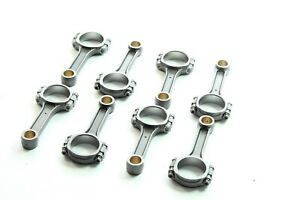 5.7'' I-Beam 5140 Connecting Rods  For SBC Chevy 350 Bushed