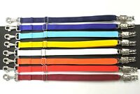 Multipack Stable Coupling Clip Lunging Aid Nylon Safety 4 Colours 3 Sizes