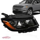 Fits Jeep Compass 2017-2020  Headlight Headlamp Halogen Passenger Right Side RH