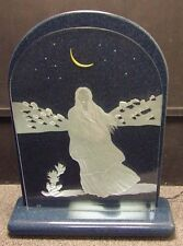 "R C Gorman""Luminaries Luna""Crystal Sculpture Hand Signed&Numbered Make a Offer"