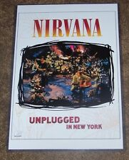 Nirvana MTV Unplugged 11X17 TV Concert Poster