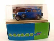 Limousines miniatures bleus 1:43