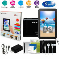Quad Core Android Tablets PC Dual Cameras WiFi Touchscreen Xmas Gifts
