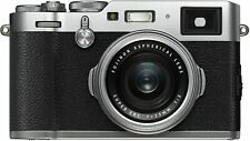 Fujifilm - X-Series X100F 24.3-Megapixel Digital Camera - Silver (READ)